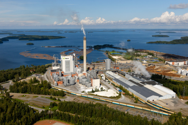 Metsä Group's pulp factory.