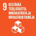 SDG 9 Kestävää teollisuutta, innovaatioita ja infrastruktuureja