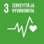 SDG 3 Terveyttä ja hyvinvointia