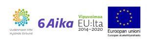 CircVol, 6Aika ja EU-logot.